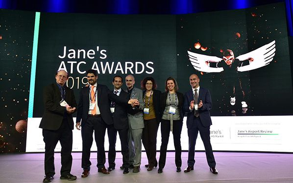 """ENAIRE received the Jane´s ATC Award for its ecosystem of tools known as """"Flow Tools Ecosystem"""" aimed at optimising air traffic management capacity and efficiency."""