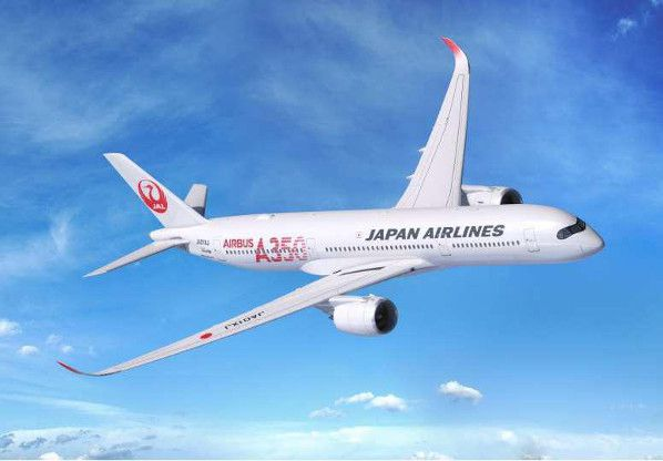 jal airbus 350 first