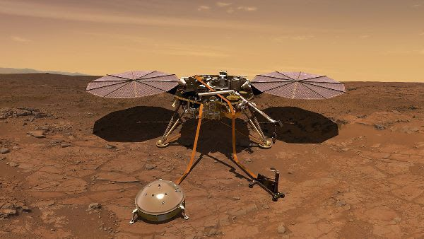 insight sonde nasa Crédit photo NASA/JPL-Caltech