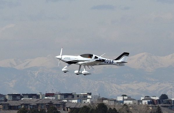eFlyer airborne 2