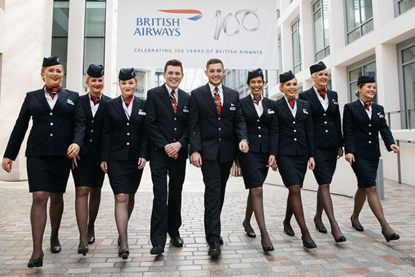 British Airways' Cabin Crew Apprentices © British Airways 2019