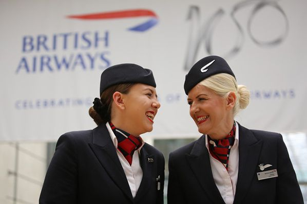 Dallas and Molly: British Airways Mum and Daughter Cabin Crew - photo Nicholas Warner