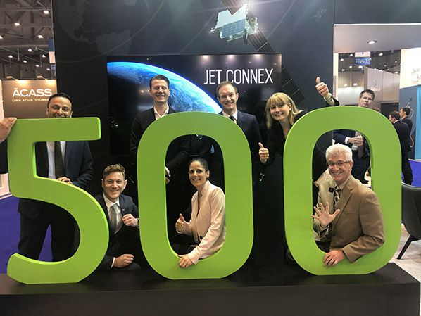 Jet ConneX inflight broadband package for business aviation customers