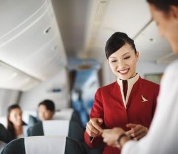 hotesse cathay pacific