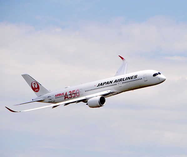 japan airlines jal airbus a350 ja01xj toulouse
