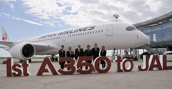 1st a350 to jal