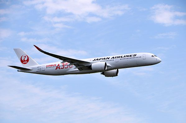 japan airlines jal airbus a350 ja01xj