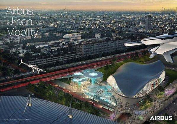 Airbus Urban Air Mobility - Paris Vision
