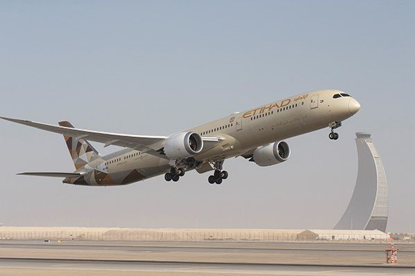 EY Boeing 787 dreamliner Etihad Airways