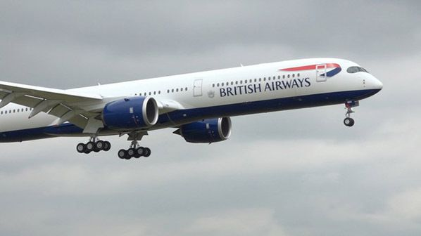 British Airways A350 London Heathrow