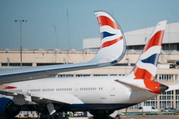 British Airways A350 at London Heathrow