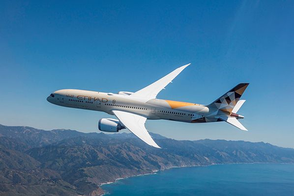 Image Etihad Airways Boeing 787