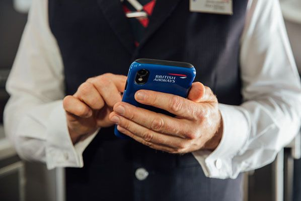 British Airways invests in latest mobile technology