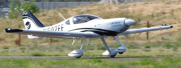 eFlyer takeoff