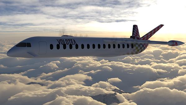 avion hybride électrique volotea