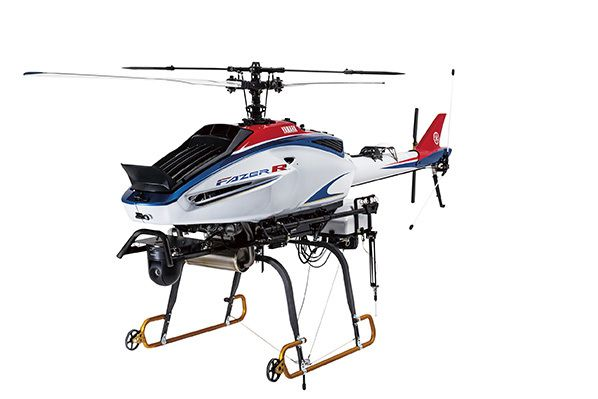 the new Yamaha FAZER R G2 automated navigation unmanned aircraft