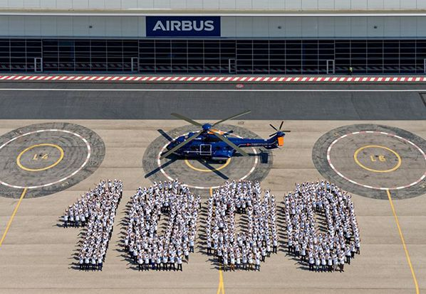 H215  1,000th Super Puma helicopter