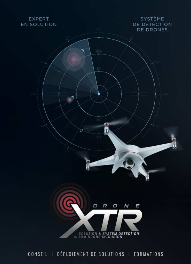 drone xtr solution détection