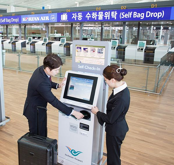 Korean Air Self check In