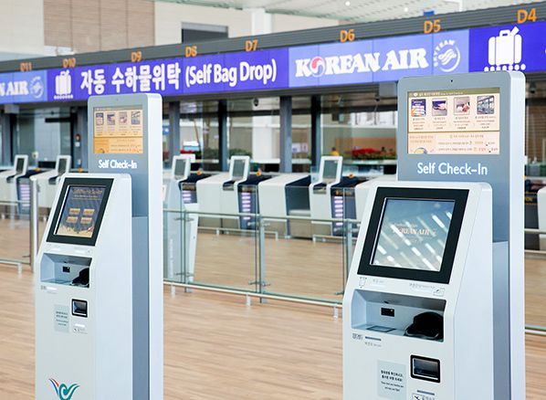 self check in Korean Air
