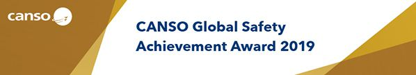 CANSO Global Safety Award Certificate 2019