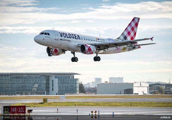 Airbus A319 qui a atterri à Toulouse ce matin