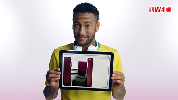Qatar Airways Video Security Neymar jr