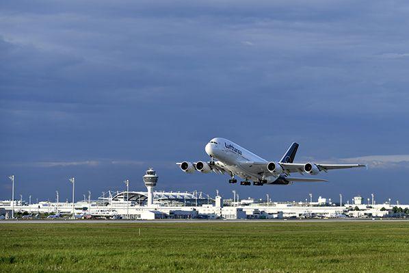 Munich Airport Take-off A380 © Munich Airport