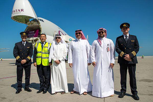 Qatar Airways _ Cargo Shipment Coronavirus