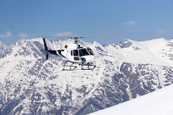 Helicopter skiing holiday
