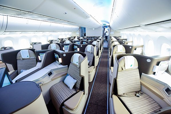 Bamboo Airways Business Class Cabin B787 © Bamboo Airways