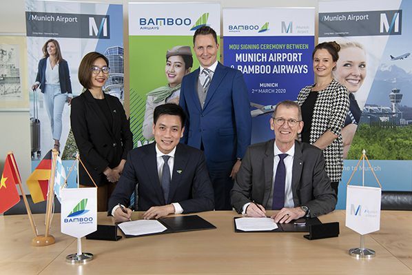 MoU between Bamboo Airways and Munich Airport