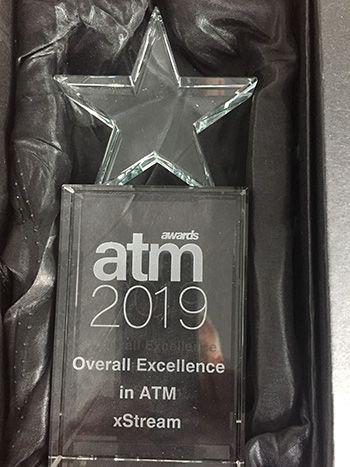 Trophée ATM Award xStream