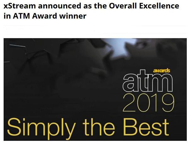 xStream : Overall Excellence in ATM