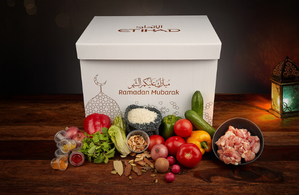 Etihad Ramadan Box initiative