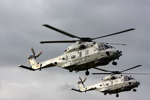 NH90 post aerobernie