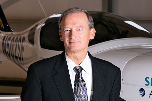 George E. Bye, Bye Aerospace CEO