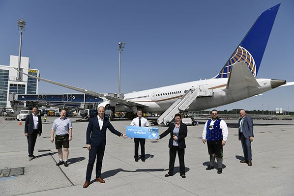 aerobernie munich Airport CEO Jost Lammers united airlines