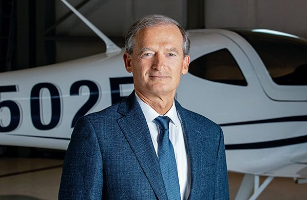 aerobernie George E. Bye, Bye Aerospace CEO