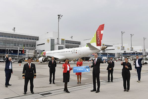 aerobernie munich airport tap air portugal