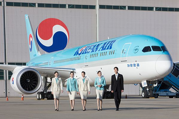 aerobernie Korean Air's Boeing 787-9