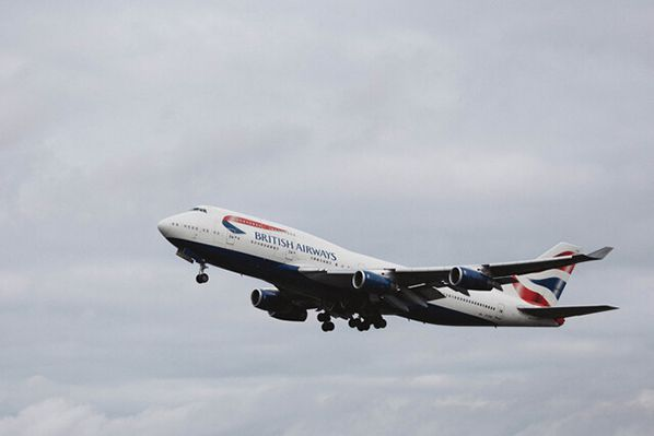 aerobernie Boeing 747 Take Off Photo Credit Stuart Bailey  British Airways