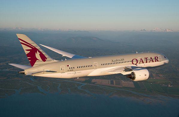 aerobernie qatar airways dreamliner boeing 787
