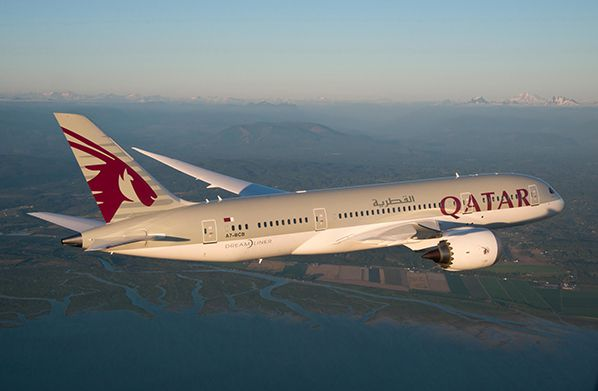 aerobernie qatar airways dreamliner boeing 787
