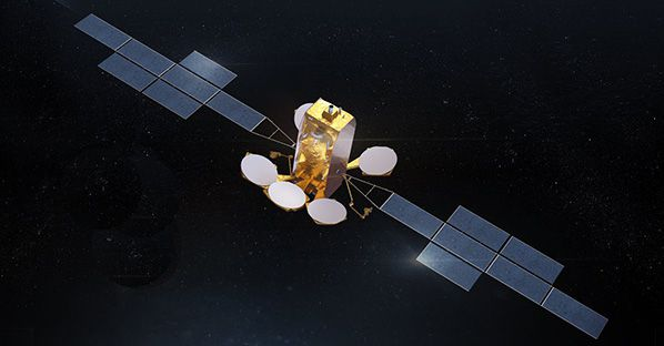 Aerobernie ArabSat Artist View Stars ArabSat Artist View Stars The BADR-8 satellite will be based on the-state-of-the-art Airbus Eurostar Neo electric orbit raising platform giving access to a wide range of launchers.  ©AIRBUS