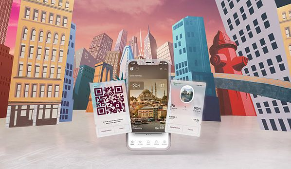 aerobernie application mobile qatar airways