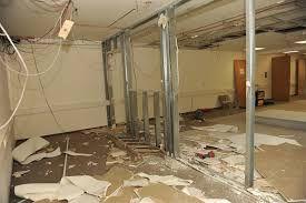 travaux de demolition