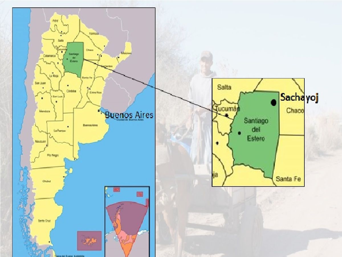 Localisation du village