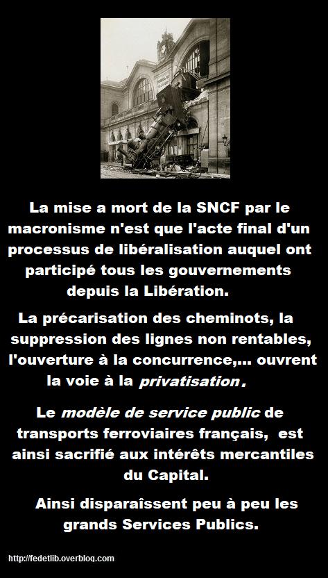 LA SNCF EN DANGER DE MORT