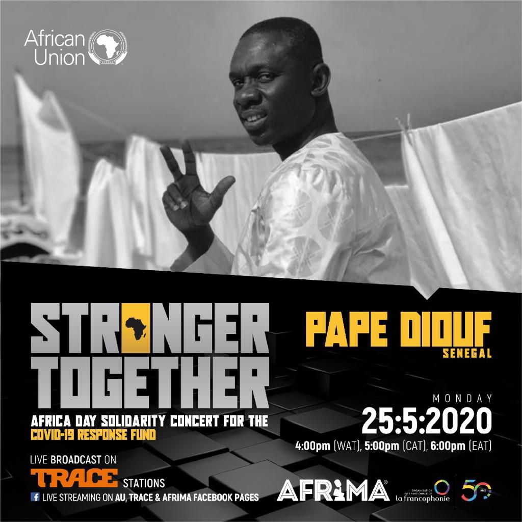 PAPE DIOUF THE FUTURE  !! UNITED AS ONE!!  STRONGER TOGETHER!!